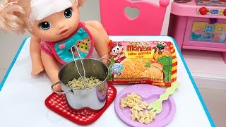BABYALIVE Come MIOJO & Kit de Panelinhas Novo