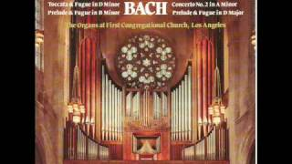J.S. Bach:  Concerto No. 2 in A Minor BWV 593:  2nd Mvt- Adagio