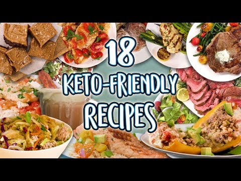 The Best 18 Keto Recipes | Low Carb Super Comp | Delicious