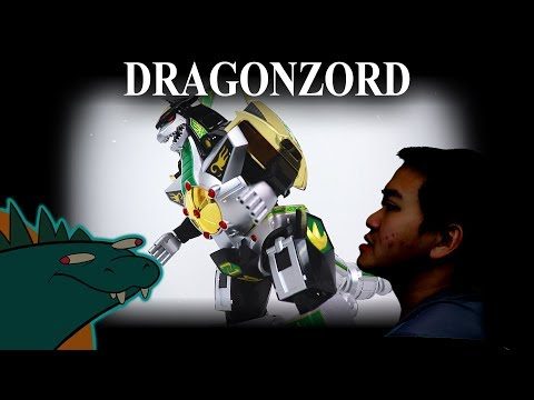 Dragonzord Power Rangers Soul of Chogokin GX-78 Review