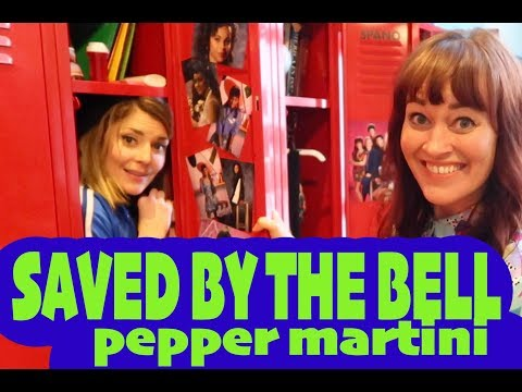 SaVed bY THE BELL pepper W/ Grace Helbig
