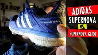 Comparativa: ADIDAS SUPERNOVA (9) vs. SUPERNOVA GLIDE (8)