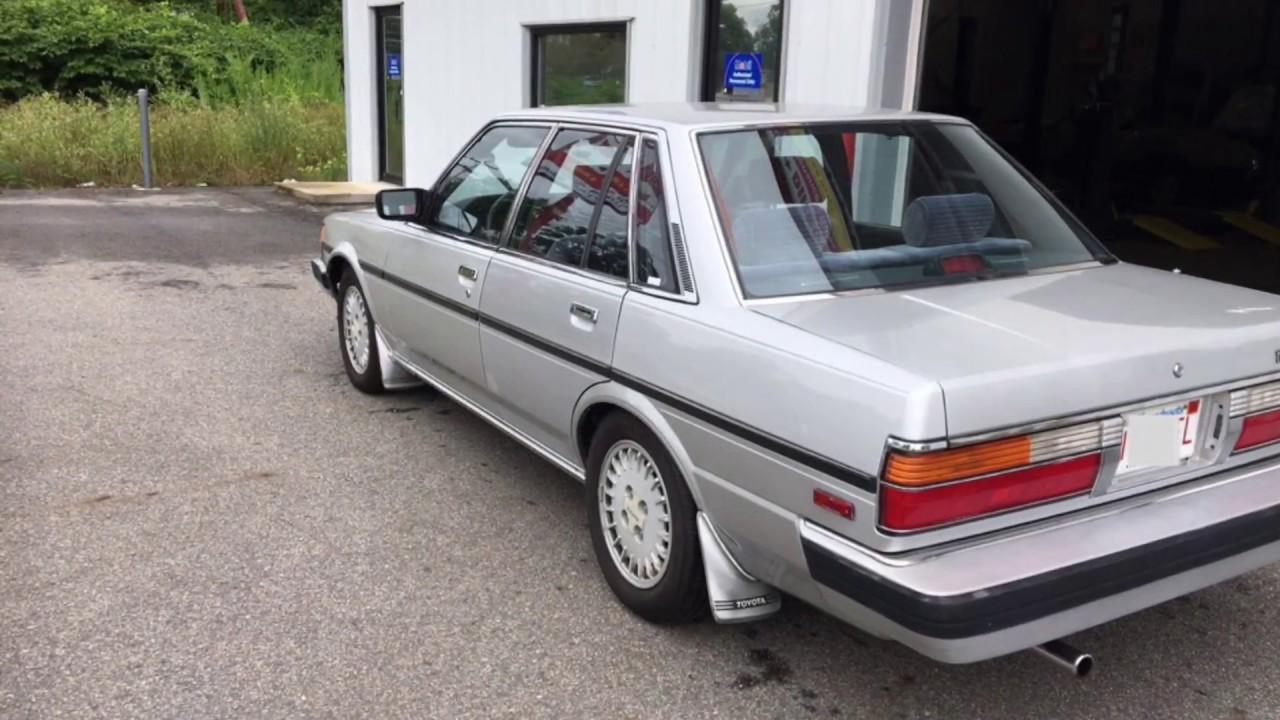1986 Toyota Cressida Entry Level Collector Car Automotive