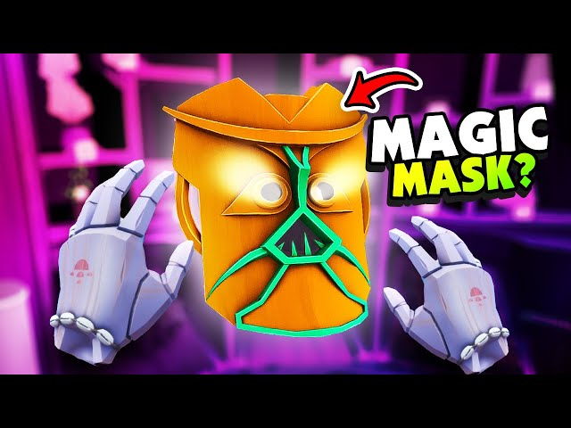 Crafting a MAGIC MASK With My HANDS IN VR - Maskmaker VR
