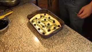 Фокачча с оливками - Focaccia with olives (Итальянская кухня)