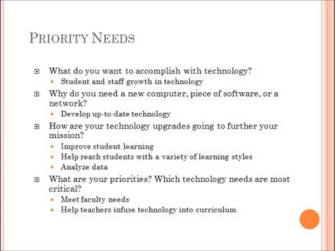 Technology Plan - Morris Central School