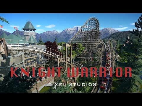 Knight Warrior - Planet Coaster [Wooden Coaster]