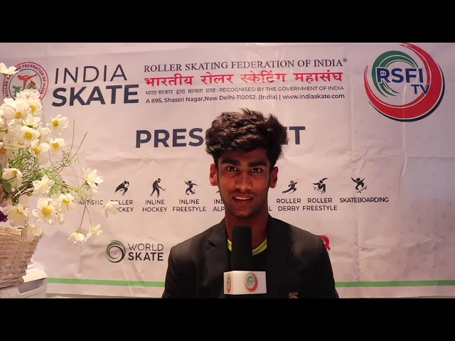 RSFI BEST J SPEED SKATER MAHAJAN @   तनीष महाजन