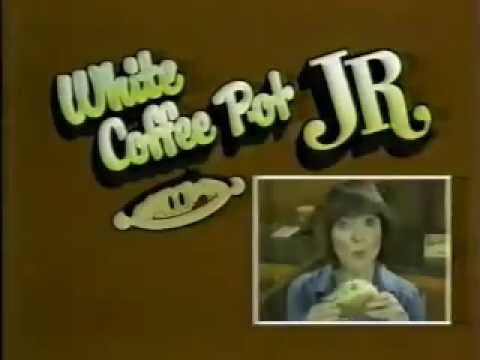 White Coffee Pot Jr. Restaurants (Baltimore Area) Ad From 1981