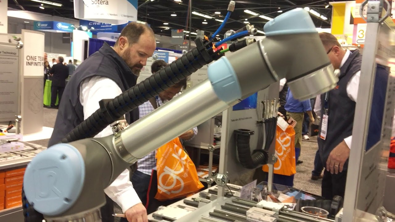Robotics to mainstream at MD&M West (ATX West) 2018 - The