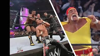 Hulk Hogan Saves Shawn Michaels (HD) - Raw 18.04.2005