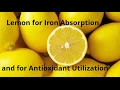 Lemon - Enhances Iron Absorption & Boosts Antioxidant Utilization - Food Combinations that Work