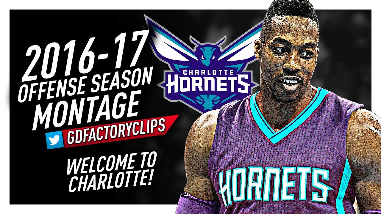 quality design 31d62 705f6 Dwight Howard Offense & Defense Highlights Montage 2016/2017 - Welcome to  Charlotte Hornets!