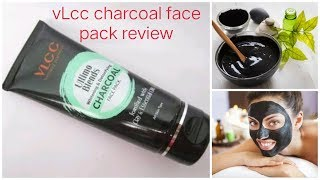 VLcc ultimo blends charcoal face pack review/ best face pack for summers