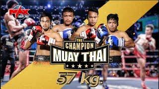 Video THE CHAMPION MUAY THAI - 4 Man Tournament I June 16th, 2018 download MP3, 3GP, MP4, WEBM, AVI, FLV Juni 2018