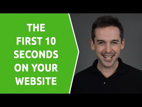 The First 10 Seconds on a Tour Operator Website