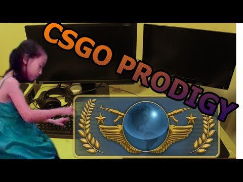 10 year old female prodigy plays csgo :-: YOU WON'T BELIEVE WHAT HAPPENS NEXT..