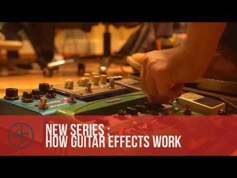 New Series : How Guitar FX work (with some maths and science!)
