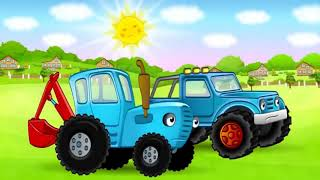 Мультик про Трактор Мультики про машинки / синий трактор мультфильмы для детей / animated cartoon