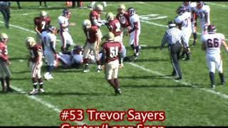 Trevor Sayers, Center/Long Snap