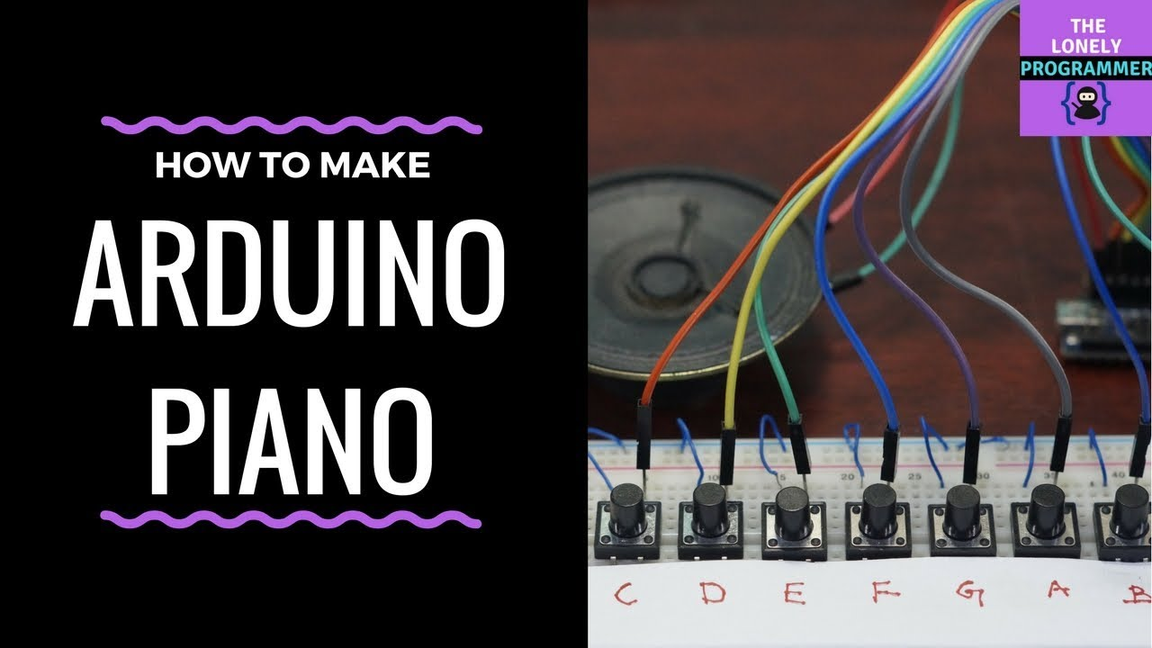 Build Your Own Arduino Keyboard Synth!