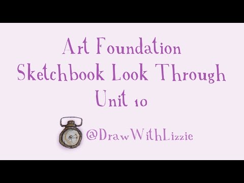 Foundation Art and Design: FMP: Unit 10 Sketchbook (Distinction)
