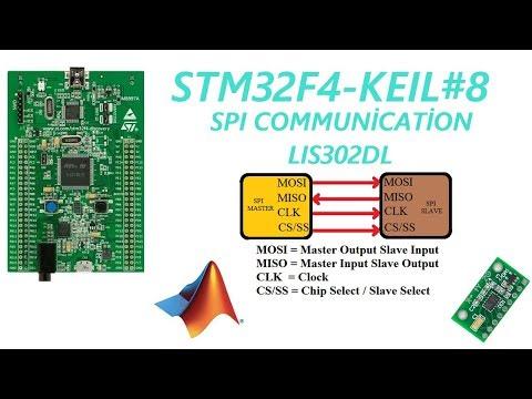 STM32F4-KEIL-ARM#8 SPI Communication LIS302DL - YouTube