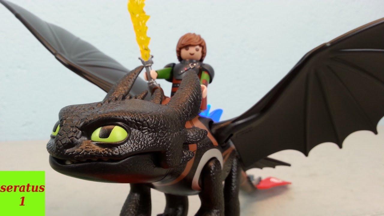 Playmobil Dragons Hicks und Ohnezahn 9246 auspacken seratus1  YouTube