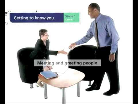 Lesson 1 - Meeting and greeting people