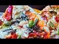 طريقة عمل البيتزا طريقة عمل البيتزا بالصلصة الحارة والزعتر الأخضر 😋مذاق روعة وبعجينة قطنية😍 فيديو من يوتيوب