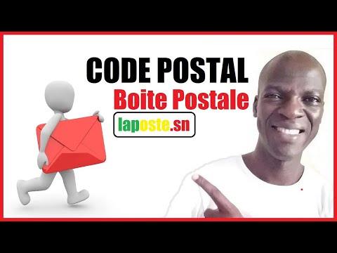 CODE POSTAL Ou BOITE POSTALE Comment Connaitre Votre Code Postal Au Sénégal
