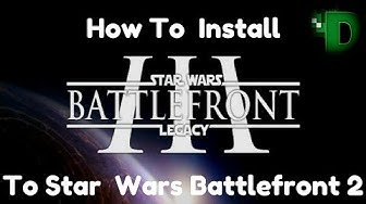 Dominic Teaches How to install Star Wars Battlefront 3 Legacy mod for Star Wars Battlefront 2