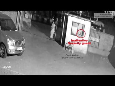 Chain snatchers beware - Zicom CCTV cameras are watching you!