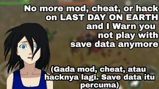 Last Day On Earth Survival Mod Apk 1.4.4 ? Dont use save data anymore
