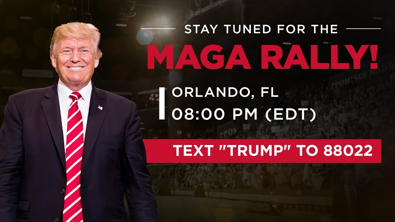Donald J. Trump - LIVE: President Trump in Orlando, FL