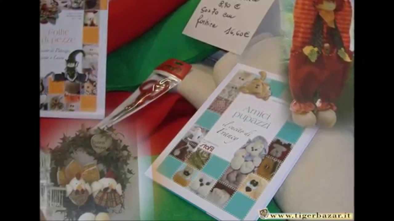 Feltro per cucito e ricamo creativo pupazzi bambole for Cucito creativo youtube