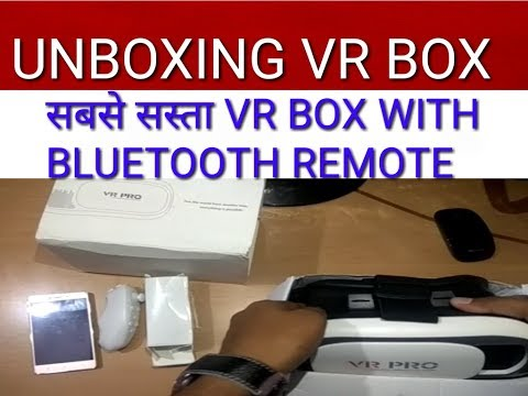 best price vr box with bluetooth remote in india