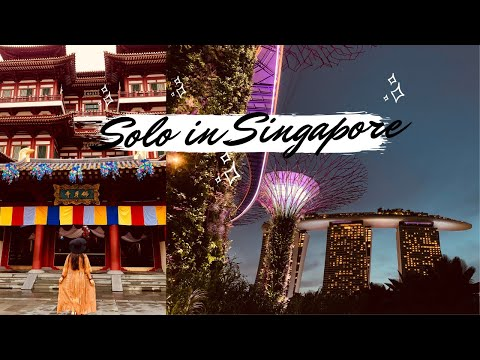 SINGAPORE VLOG ✨ Indian Girl Traveling Solo in Singapore |  SINGAPORE TRAVEL GUIDE