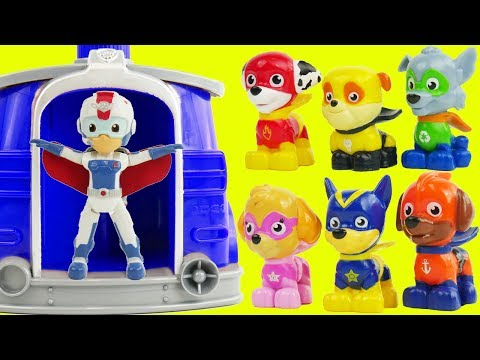 Thumbnail: Preschool Toys Learning Videos for Toddlers: Paw Patrol Super Pups our Best Preschool Toys for kids!