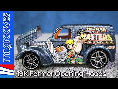 Hot Wheels with Opening Hoods 19K Casting Changes