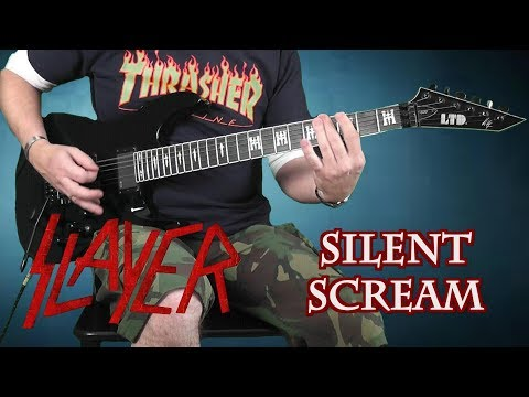 Slayer - Silent Scream - guitar cover with solo