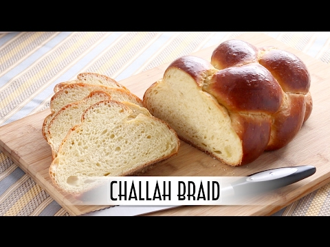 Challah Braid - 6 Strand Braid | Straight Dough Method