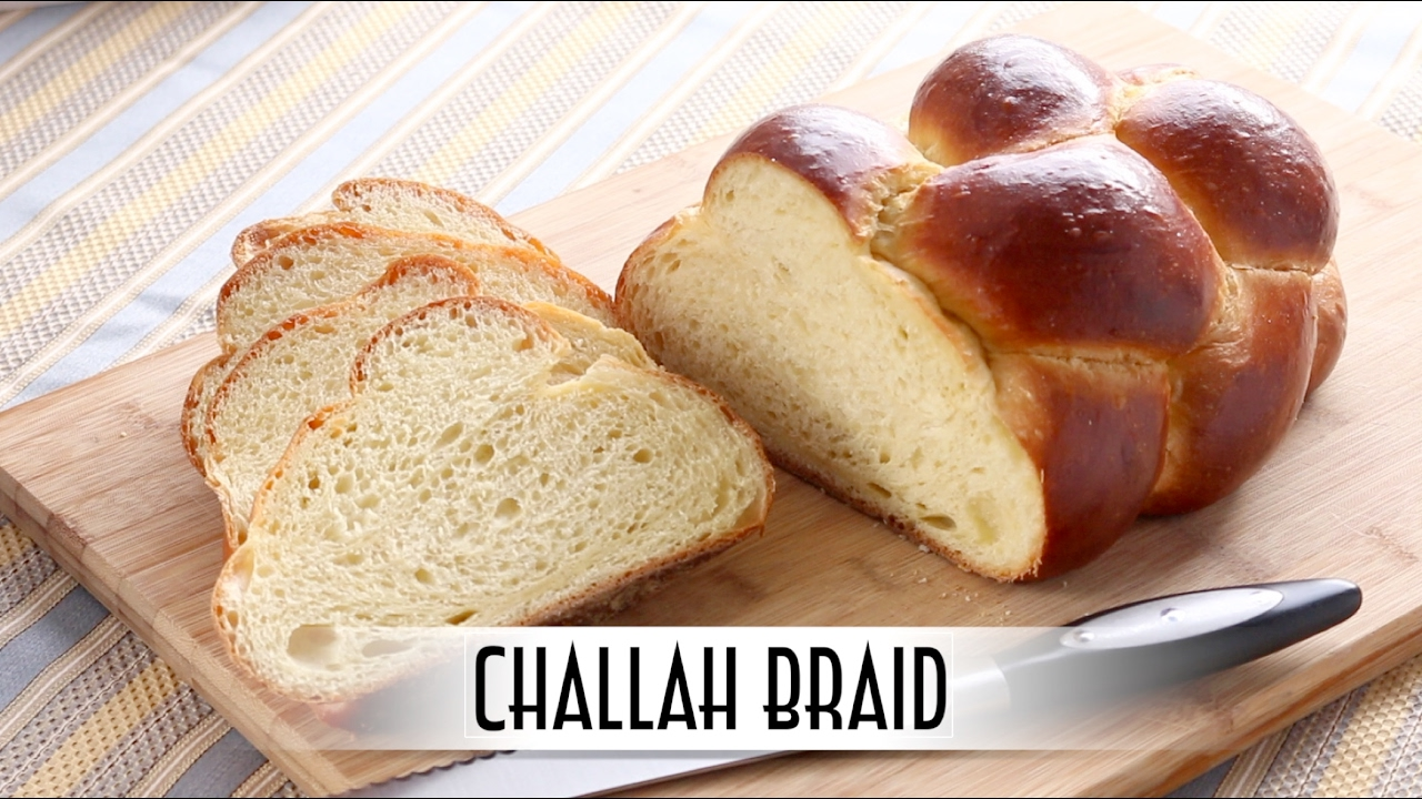Challah Braid - 6 Strand Braid | Straight Dough Method