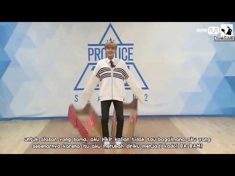 [INDO SUB] PRODUCE 101 SEASON 2 || Lee Dae Hwi || Perkenalan Ep.0