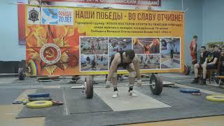 Игорь Шашов рывок 105 кг, толчок 135кг, ветераны 40+