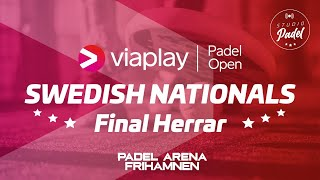 Final Herrar. Viaplay Open - Swedish Nationals