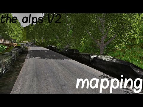 L'instant mapping | the alps V2 #1