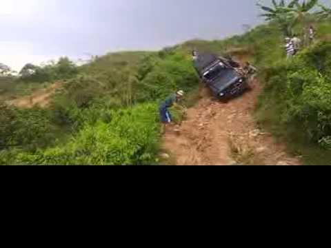 Taft Bogor Daihatsu F70 Dl42 Turbo Green Scorpion Youtube