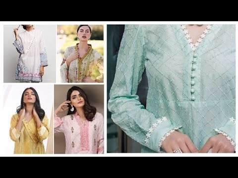 Casual Neck Design For Spring Summer Kurti And Suits 2019-20