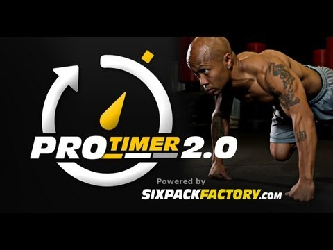 ProTimer 2.0 Interval Workout Timer App From Sixpackfactory.com